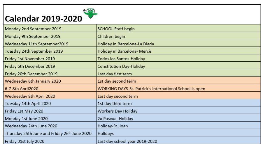 Calendar2019-2020